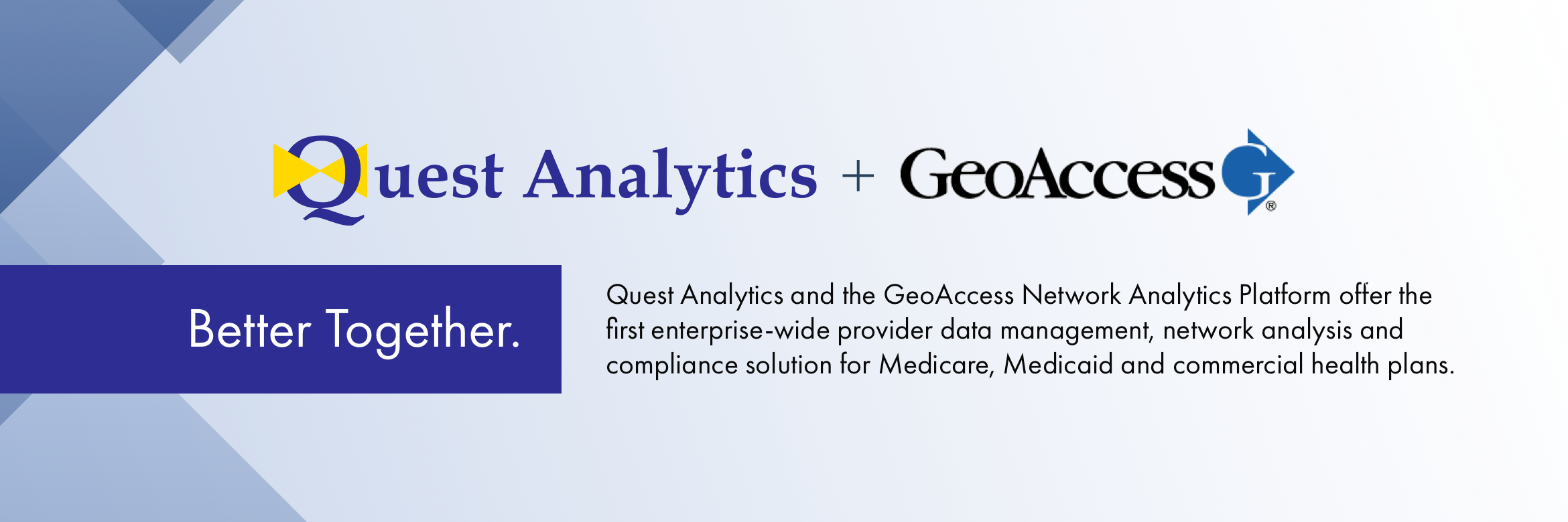 Quest Analytics aquires GeoAccess